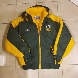 Vintage Pro Line NFL Green Bay Packers Jacket (L)
